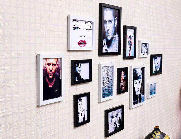 小墙面照片墙